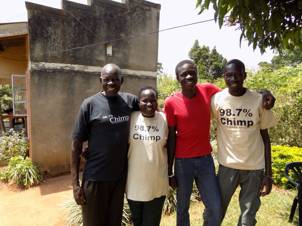 Betty(center) and her family-From L-R_Daniel Afaa(husband),Aniku Jovan and Daniel Afaa (4)